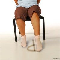 Ankle Range-of-motion exercises